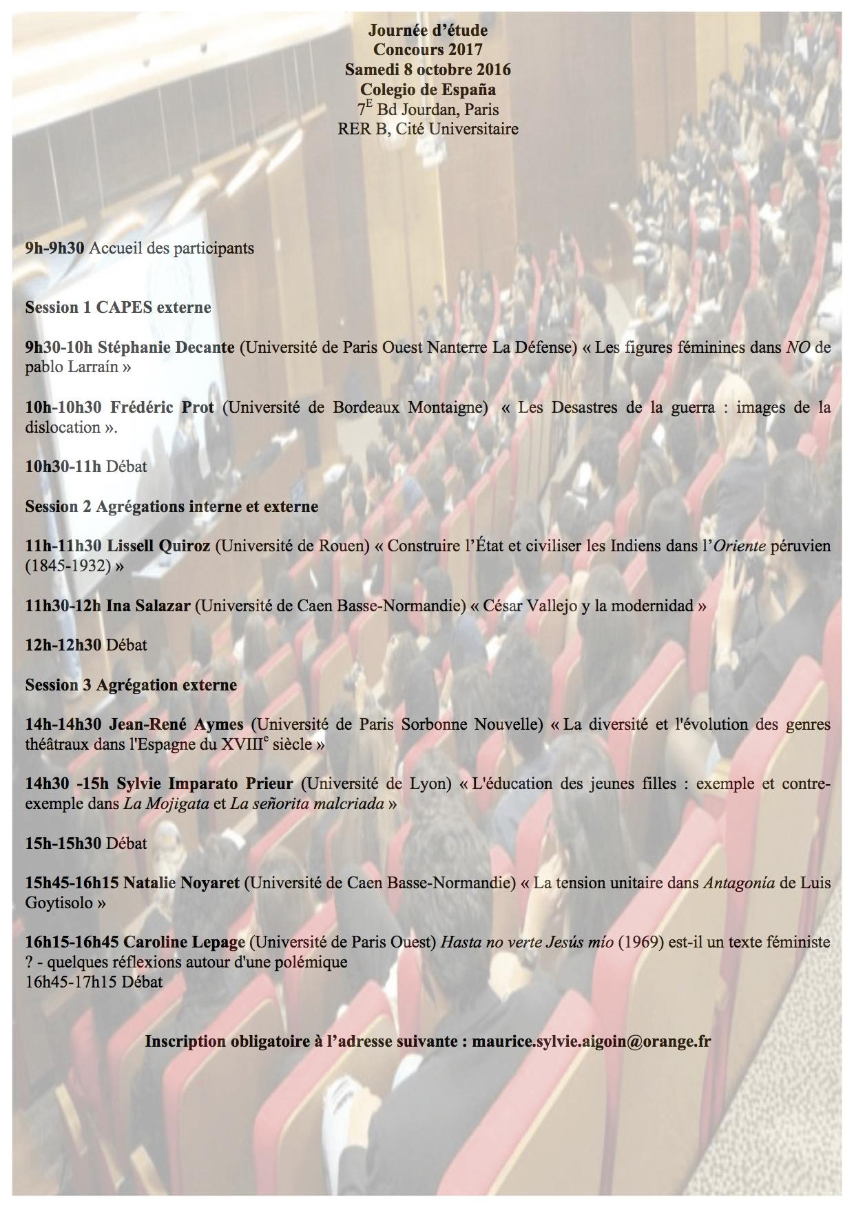 Programme JE 2